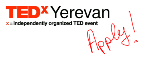 TEDxYerevan - Apply!